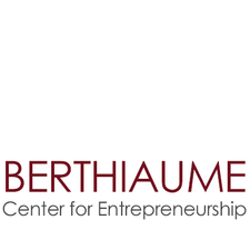 The Berthiaume Center for Entrepreneurship  logo