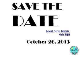 Save the Date:  First Annual Defend-Serve-Educate (DSE) Gala...