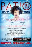 PATIO 18 | MEMORIAL DAY SATURDAY DAY PARTY