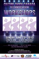 2013 Culture Shock Canada Showcase - Workshops