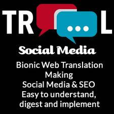 Elaine Lindsay Bionic Web Translator @ TROOL Social Media logo