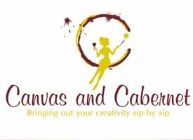 Canvas and Cabernet Ribbon Cutting