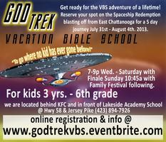 God Trek Vacation Bible School
