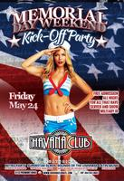 Memorial Day Weekend Kick-Off Party Friday May 24