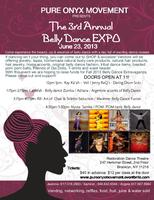 3rd Annual Pure Onyx Movement Belly Dance Fundraiser