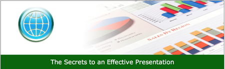 The Secrets to an Effective Presentation