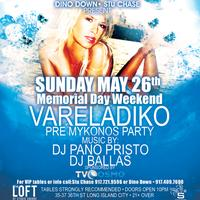 Vareladiko Greek Night: Pre Mykonos Party • FREE ADMISSION