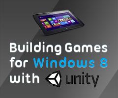 Unity for Windows 8