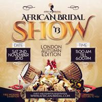 African Bridal Show - London Autumn Edition 2013