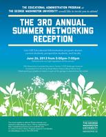 The 3rd Annual Summer Networking Reception