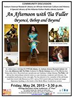 An Afternoon with Tia Fuller: Beyonce, Bebop and Beyond