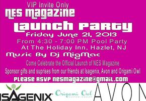 NES Magazine Launch Party