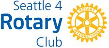 Rotary Club of Seattle  logo