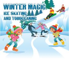 Winter Magic Ice Skating and Tobogganing logo