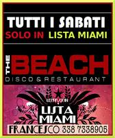 THE BEACH CLUB MILANO - SABATO 9 MARZO 2019 - LA NUIT...