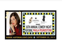 16th Annual Comedy Night featuring Paula Poundstone