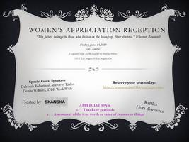 Women's Appreciation Reception