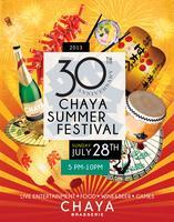 30th Anniversary CHAYA Summer Festival