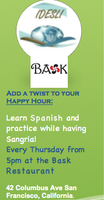 IDESLI SPANISH HAPPY HOUR