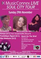 MusicConnex Live, Soul City Tour - Manchester