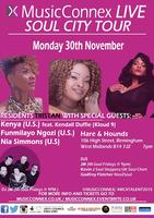 MusicConnex Live, Soul City Tour - Birmingham