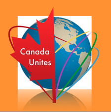 CANADA NOS UNE MULTICULTURAL ORGANIZATION, DAVENPORT PERTH NEIGHBOURHOOD AND COMMUNITY HEALTH CENTRE, FOR YOUTH INITIATIVE, CITY HALL TORONTO. logo