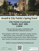 City Pointe & Avanti Spring Event