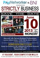 Networking Event: Strictly Business - June 2013