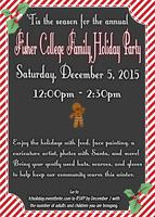 2016 Fisher College Annual Family Holiday Party