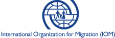 International Organization for Migration (IOM UK) logo