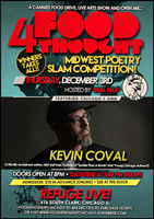 #Food4ThoughtCHICAGO : MIDWEST POETRY SLAM...