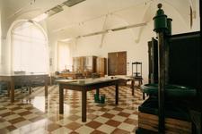 Laboratorio di restauro del libro dell'Abbazia di Praglia logo
