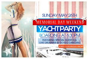 Sunday May 26th - MDW Evening Cruise & After-party At LAVO