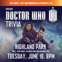"OFFICIAL ""DOCTOR WHO"" (TV) TRIVIA"