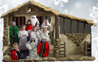 Paisley Santa Christmas Tinsel Parade 2016