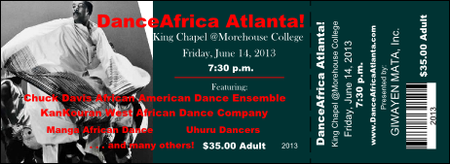 Dance Africa Atlanta - Opening Night Concert
