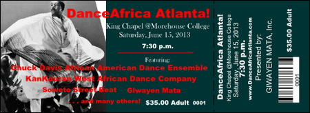 Dance Africa Atlanta - Closing Day Concert
