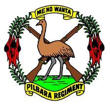 The Pilbara Regiment logo