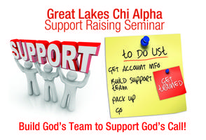 Support Raising Seminar, September 2013