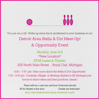 SE Michigan Stella & Dot Local Opportunity Event and Stylist...