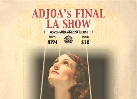 Vaudeville Singer-Songwriter Adjoa Skinner - Goodbye...