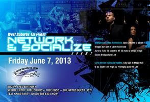 West Suburbs 1st Friday Network & Socialize Event