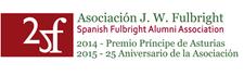 Asociación de Ex Becarios J W Fulbright logo