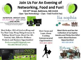 Join Us For An Evening of Networking, Food and Fun!