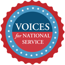 Voices for National Service logo