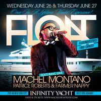 MACHEL MONTANO HD LIVE - FLOAT NYC | The Ultimate Yacht...