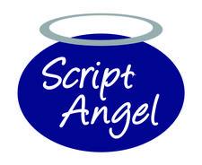 Script Angel logo