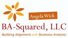 BA-Squared with Angela Wick logo