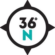 36 Degrees North logo