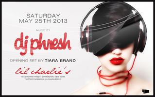 Saturday Night - With DJ Phresh !!!
